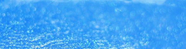 Fundo glittery largo do azul de oceano fotografia de stock royalty free