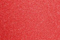 Fundo glittery VERMELHO com sparkles imagens de stock