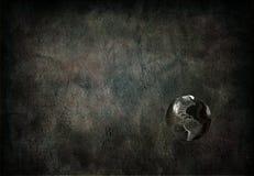 Fundo global de Grunge ilustração do vetor