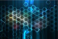 Fundo global do negócio do conceito da informática da infinidade ilustração do vetor