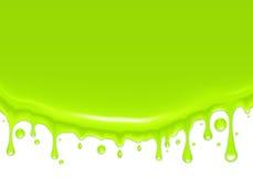 Fundo, gotas verdes Imagens de Stock Royalty Free