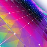 Fundo gráfico abstrato Imagens de Stock