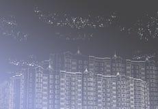 Fundo gráfico urbano ilustração royalty free