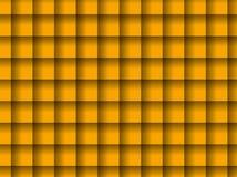 Fundo grelhado amarelo Imagem de Stock