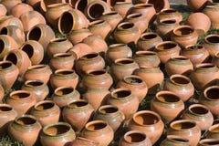 Fundo Handmade da cerâmica. Imagens de Stock