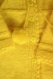 Fundo Handmade do casaco de lã de lãs Foto de Stock