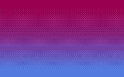 Fundo hesitando da arte do pixel em três cores ilustração stock