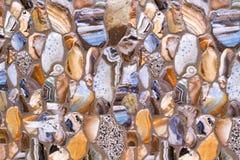 Fundo Himalaia da textura da parede de pedra Foto de Stock