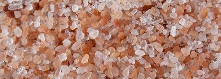 Fundo Himalaia de sal do mar, close-up imagens de stock