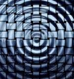 Fundo hipnótico abstrato Fotografia de Stock