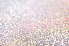 Fundo holográfico colorido delicado brilhante imagem de stock royalty free