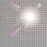 Fundo holográfico com efeito claro do pulso aleatório Mesh Holographic Foil Backdrop Holograma na moda ilustração stock