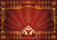 Fundo horizontal do circo do rombo Fotografia de Stock Royalty Free