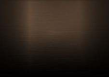 Fundo horizontal metálico de cobre escovado Fotos de Stock