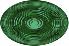 Fundo, ilustração uma esfera com uma linha ondulada no fundo branco! foto de stock