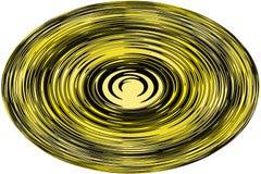Fundo, ilustração uma esfera com uma linha ondulada no fundo branco! imagem de stock royalty free