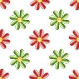 Fundo ilustrado da flor Imagens de Stock