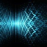 Fundo ilustrado da tecnologia conceito abstrato Foto de Stock