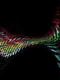 Fundo ilustrado da tecnologia conceito abstrato Imagens de Stock