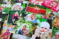 Fundo impresso das fotos fotos de stock royalty free