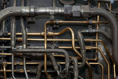 Fundo industrial Fotografia de Stock