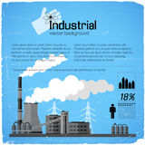 Fundo industrial Fotografia de Stock Royalty Free