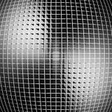 Fundo industrial da listra de prata escura abstrata Foto de Stock Royalty Free