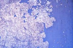 Fundo industrial Textured - pintura da casca na superfície metálica do grunge Fotos de Stock