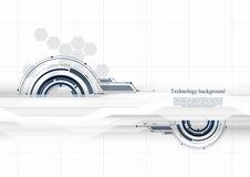Fundo inteligente futuro tecnologico t do sumário da relação ilustração stock