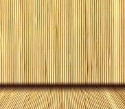 Fundo interior de bambu natural japonês Imagem de Stock