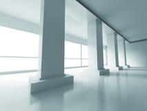 Fundo interior vazio moderno abstrato Imagem de Stock Royalty Free