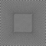 Fundo interior vazio preto e branco do vetor Imagens de Stock