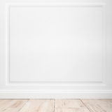 Fundo interior vazio quadrado abstrato Fotografia de Stock
