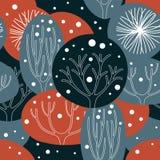 Fundo invernal ilustração stock