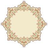 Fundo islâmico circular três Imagem de Stock