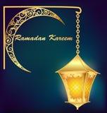 Fundo islâmico do kareem da ramadã Eid Mubarak Fotografia de Stock Royalty Free