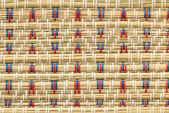 Fundo japonês da textura da decoração da esteira de tatami Fotografia de Stock