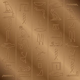 Fundo jeroglífico Imagem de Stock Royalty Free