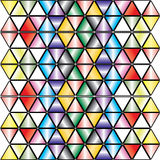 Fundo Kaleidoscopic - vetor. Fotografia de Stock
