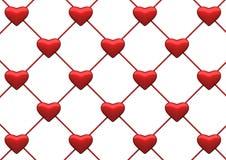 Fundo líquido do coração ilustração royalty free