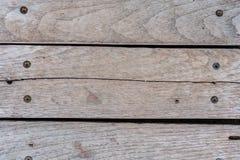 Fundo largo de madeira velho Fotografia de Stock