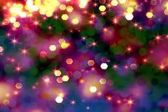 Fundo lilás brilhante com brilho cor-de-rosa por um feriado fotografia de stock royalty free