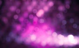 Fundo lilás roxo do inclinação de Bokeh Fotos de Stock
