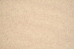 Fundo limpo bege da textura do close up da areia do detalhe Fotografia de Stock