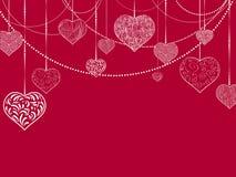 Fundo liso do feriado de Stvalentine e de casamento Imagem de Stock