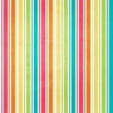 Fundo listrado abstrato em cores frescas Imagens de Stock
