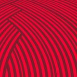 Fundo listrado abstrato Teste padrão vermelho da curva Fotografia de Stock Royalty Free