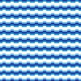Fundo listrado azul Imagens de Stock Royalty Free