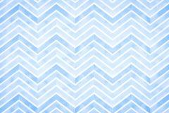 Fundo listrado azul abstrato da aquarela Fotografia de Stock Royalty Free