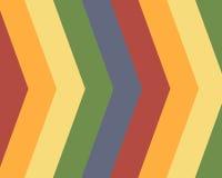 Fundo listrado das cores preliminares Imagens de Stock Royalty Free